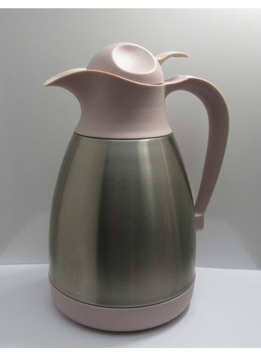 Cooker Çelik Çay Termosu - Çelik Su Termosu Renkli 1,2 Lt. Gri